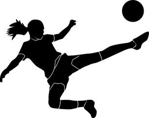 Footballeuse