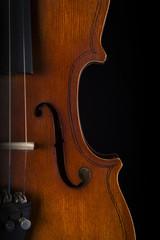 Violin part close-up