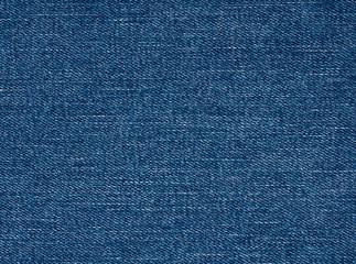Blue jeans fabric texture, denim plain surface background
