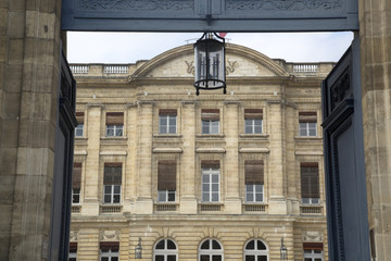 Facade of City Hall; Bordeaux