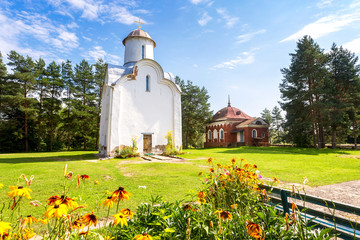 Peryn Chapel or Church of the Nativity of the Theotokos on Peryn Skete in Veliky Novgorod, Russia