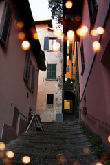 Stairs in the alleys of the old town