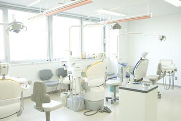歯科医院のシーン