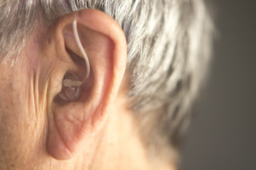 Digital hearing aid ear