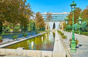 The popular landmarks of Tehran