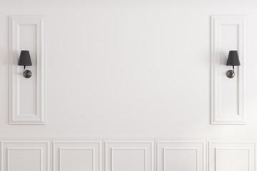 White classic wall Fototapete