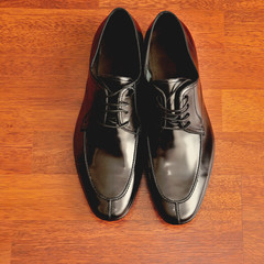 black men's shoes