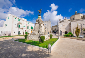 Cisternino (Italy) - The historic center of the small and pretty white town of the province of Brindisi, Apulia region, southern Italy