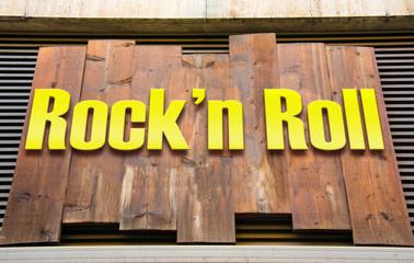 Schild 222 - Rockn Roll