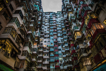High density residence in Hong Komg