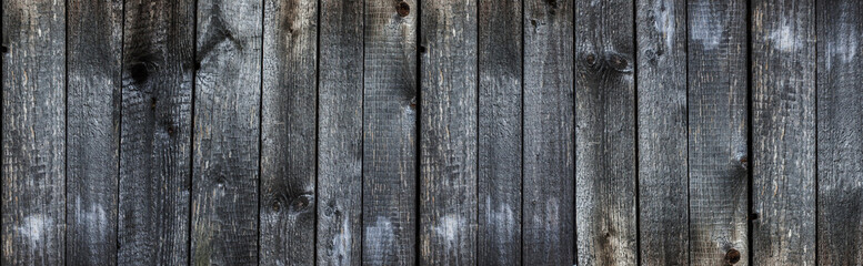 Old weathered planks texture with rusty nails.