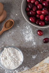 Holiday Baking with Cranberries