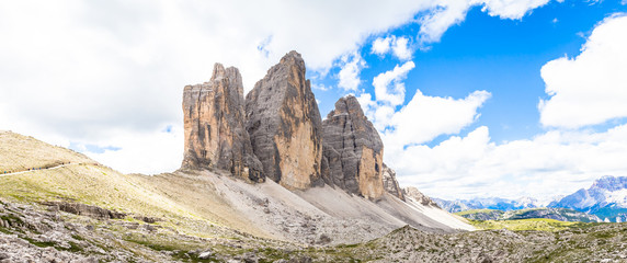 Wall Mural - Landmark of Dolomites - Tre Cime di Lavaredo