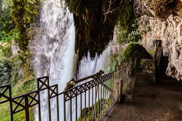 Edessa Waterfalls in Greece