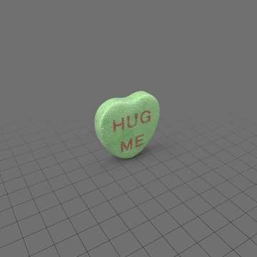 Hug me heart candy