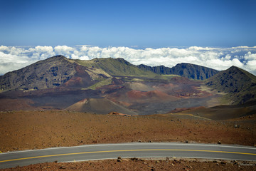 Haleakula Crater Road