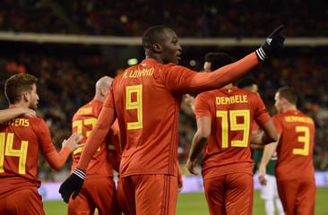 International Friendly - Belgium vs Mexico