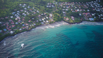 Views of Martinique from above