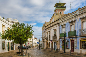 Views from the streets of Tavira in Portugal