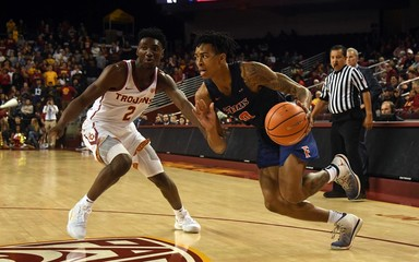 NCAA Basketball: Cal St. Fullerton at Southern California