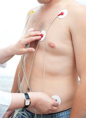 electrocardiogram making