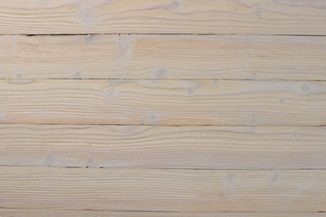Textured old wooden background. Top view. Free space for text.