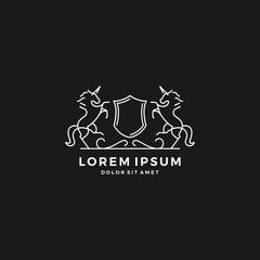 horse crest logo
