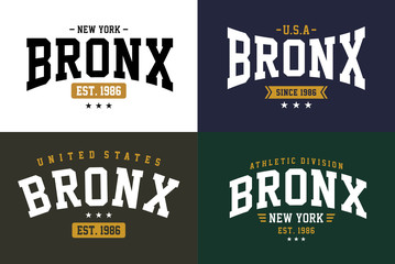Set Typography Tshirt Graphic Vector Image