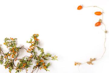 秋から冬のフォトフレーム Autumn-Winter Photo Frame