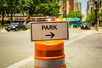 Schild 292 - Park