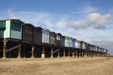 Beach Huts, Frinton-on-Sea, Essex, England