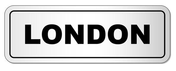 London City Nameplate