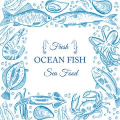 sea fish menu