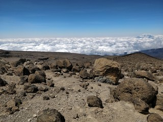 The Roof of Africa Cloud Roof Kilimanjaro