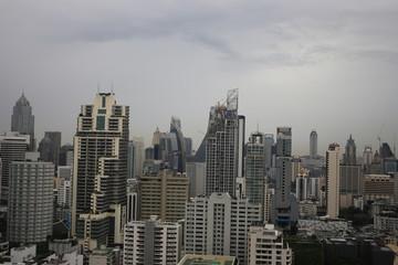 大都会のビル群