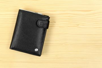 wallet on desk