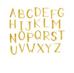Golden vector alphabet.