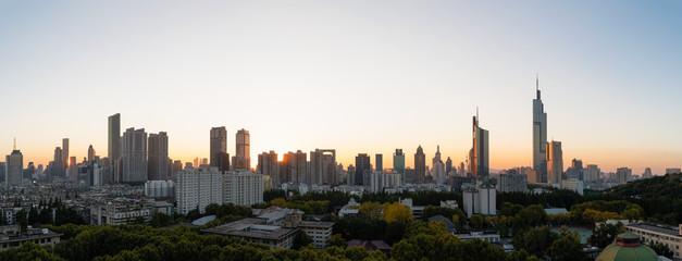 Nanjing City Sunset