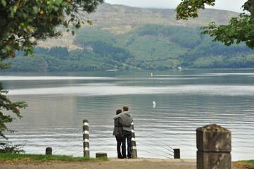 Loch Lomond, Scotland. UK