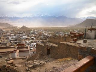 City view, on Landscape of Lah ladakh