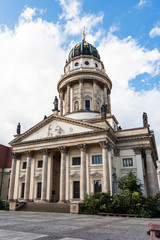 French Cathedral at Gendarmenmarkt in Berlin