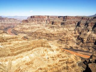 Grand Canyon West Rim summer day - Arizona, AZ, USA