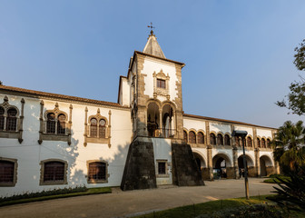The Royal Palace of Evora, a former royal residence of the Kings of Portugal since the 14th century, one of the centers of the Portuguese Renaissance.