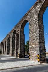 Evora aqueduct, one of the Iberian Peninsula's greatest 16th century building projects, provided clean drinking water to Evora by connecting the city to the nearest constant flowing river, 9km away.