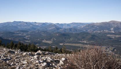 Depuis le Mont Lachens (Var)
