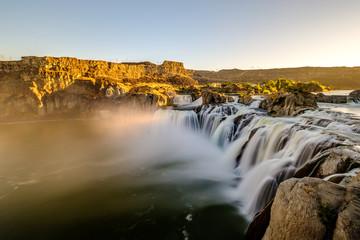 Shoshone Falls at sunrise in Twin Falls, Idaho