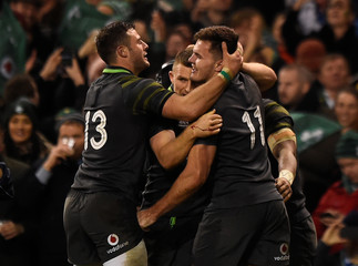 Rugby Union - Autumn Internationals - Ireland vs South Africa