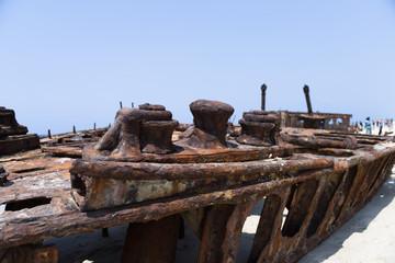 Schiffswrack - Fraser Island - Australien