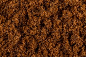 Brown sugar close up
