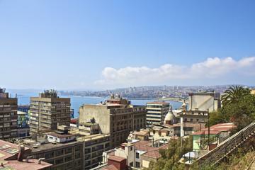 【チリの世界遺産】バルパライソの街並み